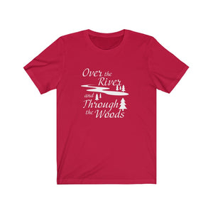 Over the River and Through the Woods, Unisex T-Shirt