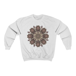 Shades of Nature Mandala Sweatshirt, Unisex