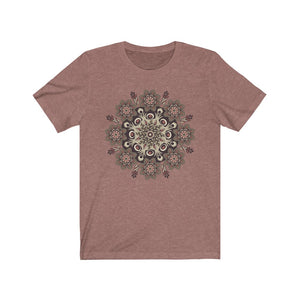 Shades of Nature Mandala, Unisex T-Shirt