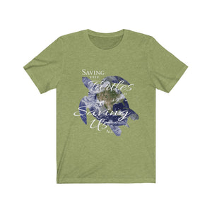 Saving the Turtles is Saving Us All, Unisex T-Shirt