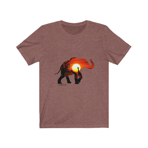 Sunrise in Africa, Unisex T-Shirt