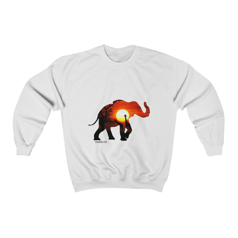 Sunrise in Africa, Unisex Sweatshirt