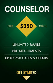 DOCKET2ME Counselor Level - 750 Cases & Clients