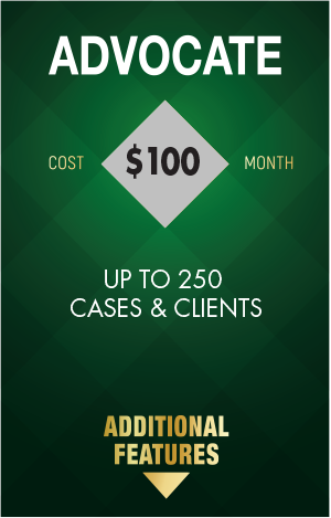 DOCKET2ME Advocate Membership - upto 250 cases & clients