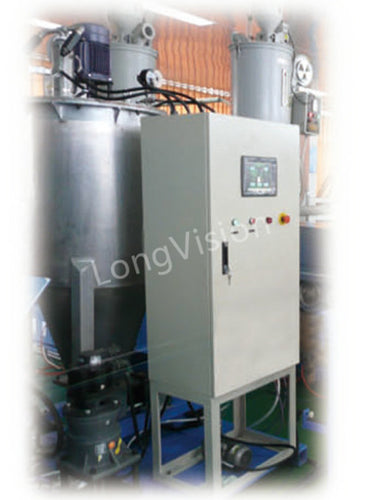 Jelly degasing machine