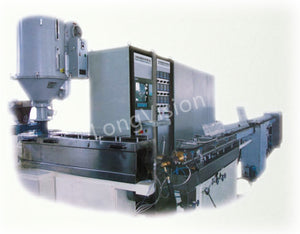 Optical fiber ribbon secondary coating line
