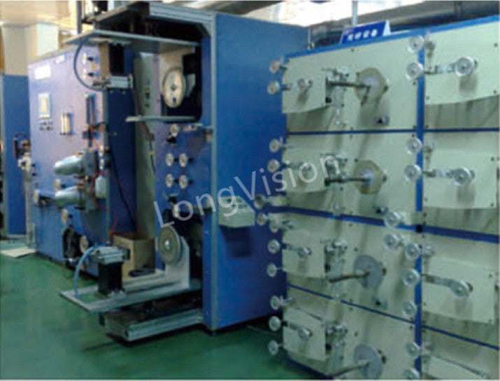 Optical fiber ribbon machine