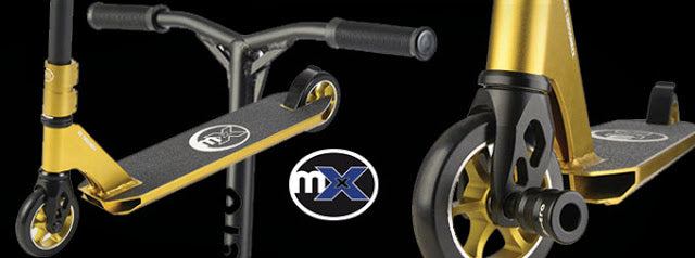 mX core micro Freestyle scooter range