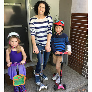 Family of Micro Scooter all Stars