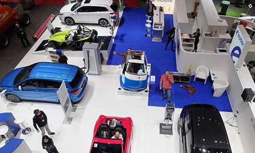 Microlino at Geneva Car Show