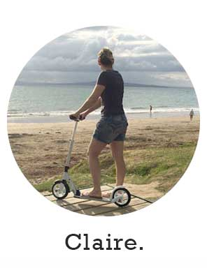 micro scooters NY motivator claire