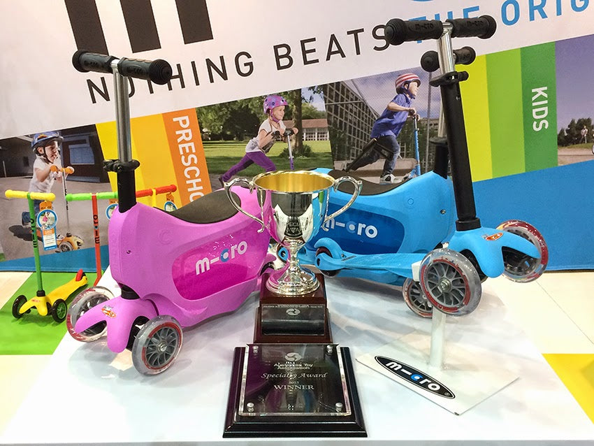 Mini2go at the Australian Toy Fair Awards