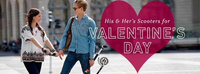 Valentine's Day Presents Micro Scooters