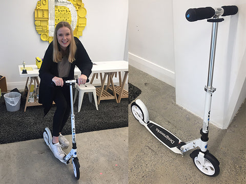 Design works and their Office Scooter
