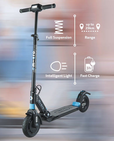 electric scooter the emicro merlin ultimate commuter scooter