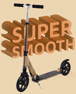 Super Smooth Suspension Scooter