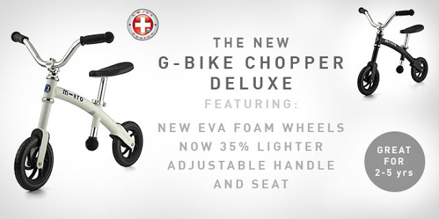 The new lighter Micro G-Bike chopper Deluxe