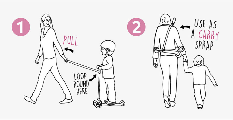 how to use the scoot n pull