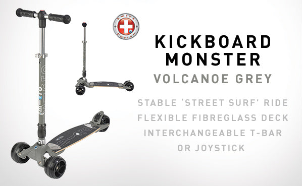 The new Kickboard Monster Micro scooter