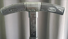 Luggage II serial number on handle extension