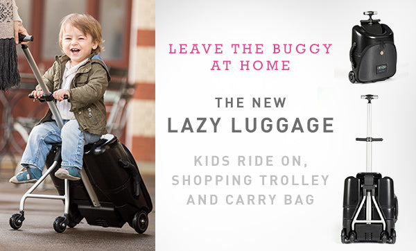 travel made easy with the Micro Lazy Luggage