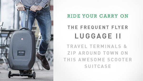 Travel made easy with the Luggage II