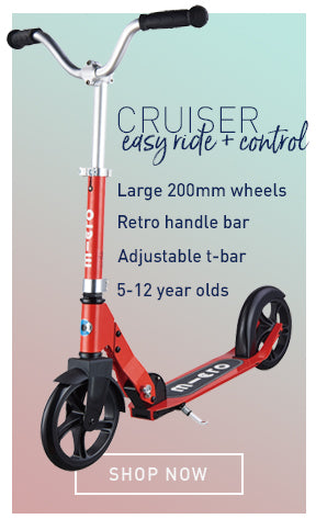 Kids Cruiser 2 wheeler scooter specs