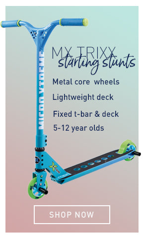 mX Trixx starting stunts specs