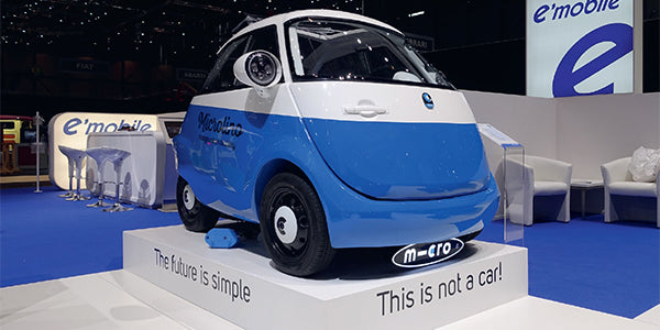 Micro Scooter Microlino Introduced