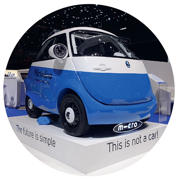 Microlino the innovative car by Micro