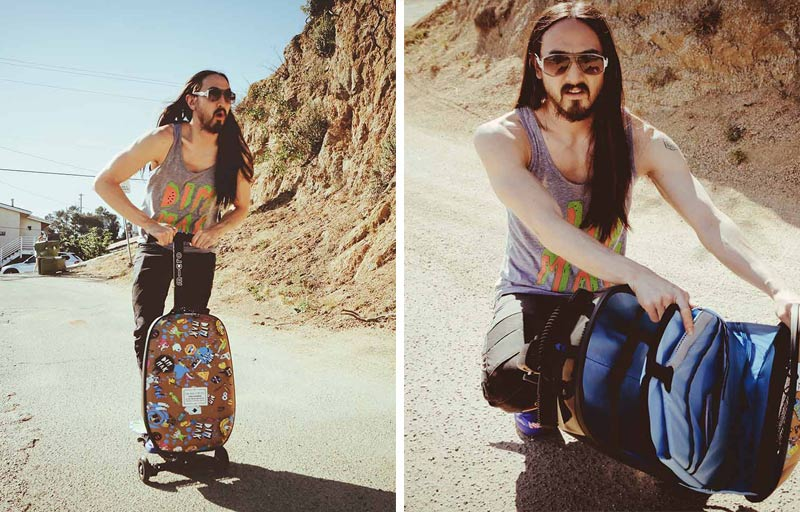 Steve Aoki Luggage Bag