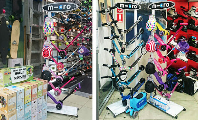 Micro Scooter Stockist Skater HQ Instore