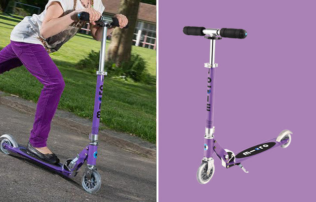 Micro Purple Scooter