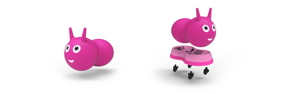 Toddler Micro Air Hopper to Ride On