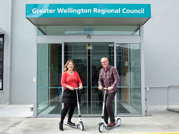 Wellington City Council on their Micro Scooter Fleet