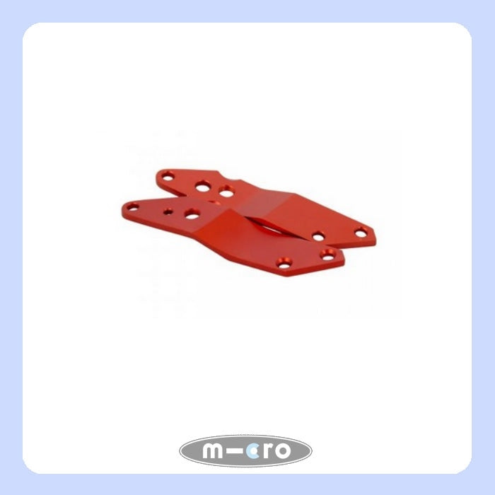 holder plates L R red