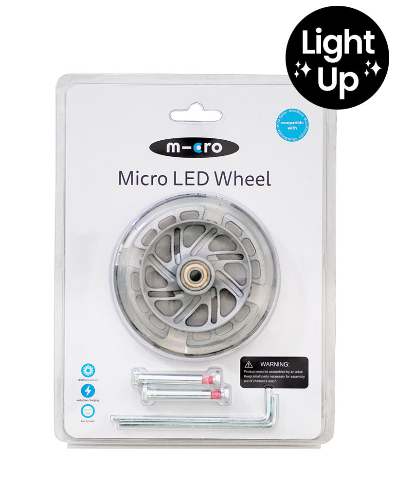 LED light up wheel set 120mm