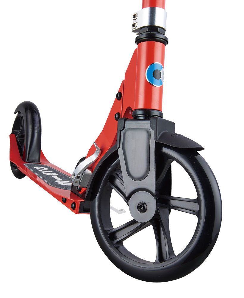 micro scooter cruiser red front wheel