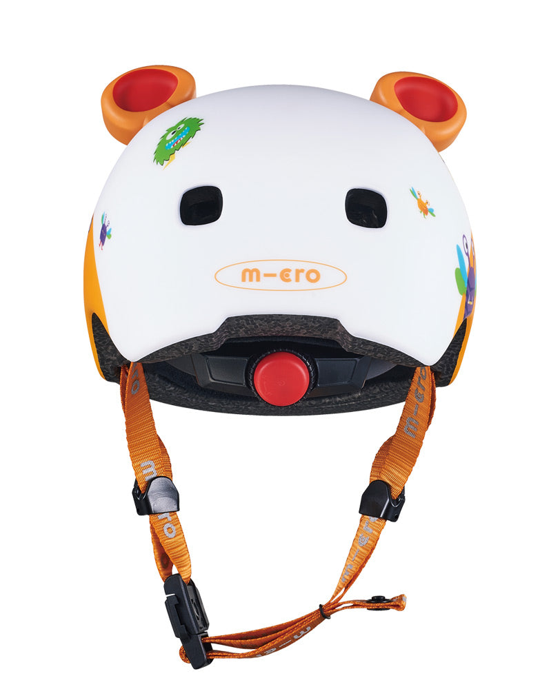 micro scooters monster kids helmet back