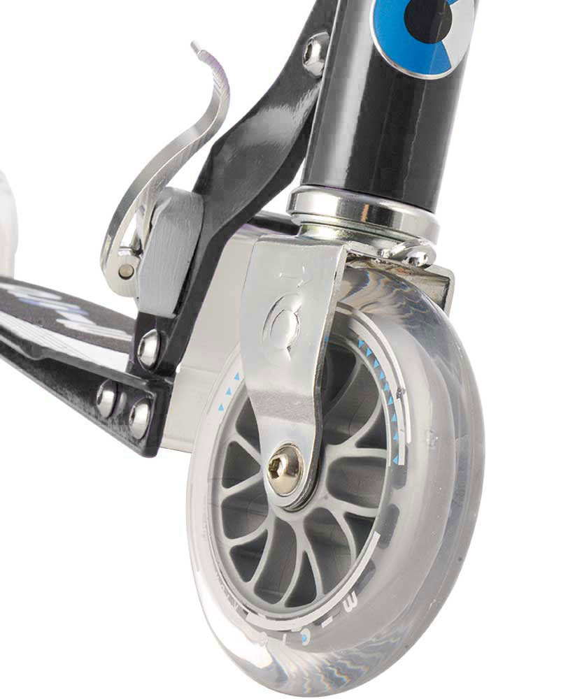 micro sprite scooter front wheel black