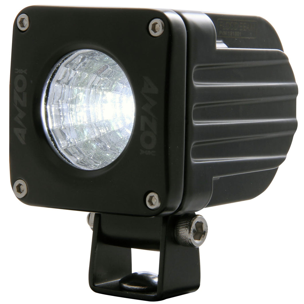 Anzo 861110 2 Inch X 2 Inch RUGGED 10W LED SPOT BEAM LIGHT