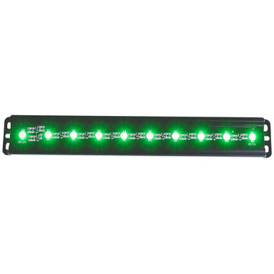 Anzo 861151 12 Inch UNIVERSAL L.E.D LIGHT BAR (GREEN)