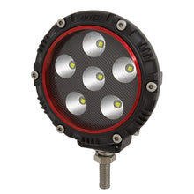 Load image into Gallery viewer, Anzo 861180 4 Inch Round LED Light (RED BEZEL)