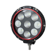 Load image into Gallery viewer, Anzo 861181 6 Inch ROUND LIGHT (RED BEZEL)