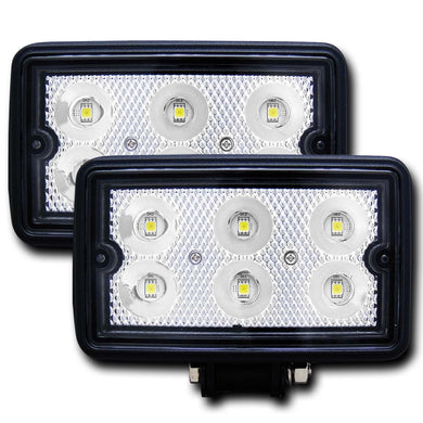 Anzo 881001 Rugged Vision 3 Inch x 5 Inch High Power LED Fog Light (Pair)