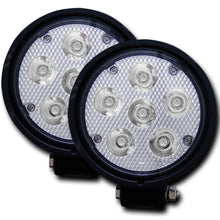 Load image into Gallery viewer, Anzo 881002 Rugged Vision 4.5 Inch Round High Power L.E.D Fog Light (Pair)