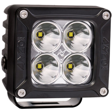 Anzo 3 Inch X 3 Inch 881045 RUGGED HI-INTENSITY 5W L.E.D SPOT LIGHT w/ HARNESS