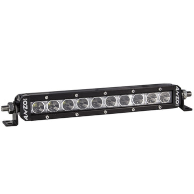 Anzo 10 Inch 881047 RUGGED HI-INTENSITY 5W SINGLE ROW L.E.D OFF ROAD LIGHT