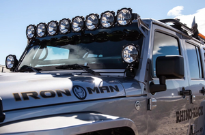 "KC Hilites Gravity LED Pro6 8-Light 50"" Universal Combo LED Light Bar - #91308"