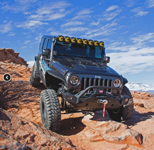 Load image into Gallery viewer, KC Hilites Gravity LED Pro6 07-18 Jeep JK 8-Light Combo Beam LED Light Bar - #91313